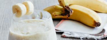 Helado casero de plátano. Receta sencilla de postre