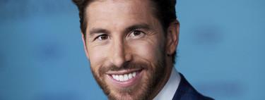 Sergio Ramos da con el perfecto look de transición en el estreno de su documental en Madrid