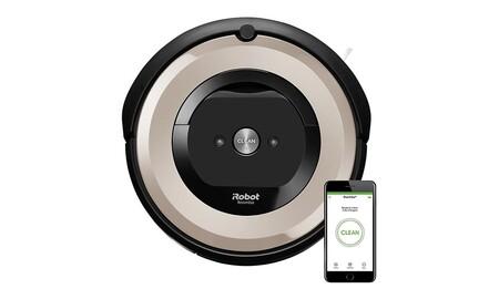 Con el cupón P5GRACIAS de eBay te puedes llevar un robot aspirador como el Roomba e5 por sólo 303,99 euros