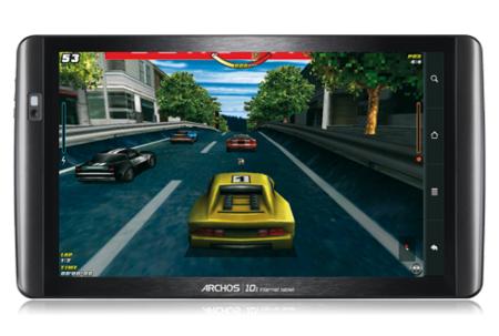juegos en la tablet Archos 101
