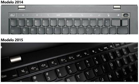 Lenovo X1 Teclas