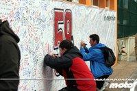 MotoGP Valencia 2011: todos recordando a Marco Simoncelli