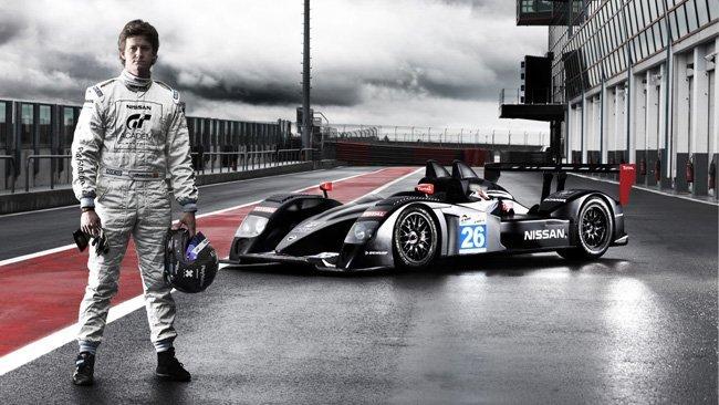 Lucas Ordoñez y el Nissan LMP2
