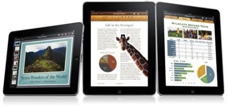 Apple presenta una nueva versión de iWork para el iPad