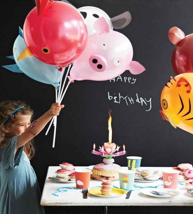 Diez ideas b sicas para hacer la fiesta de cumplea os perfecta - Decoracion cumpleanos nino 2 anos ...