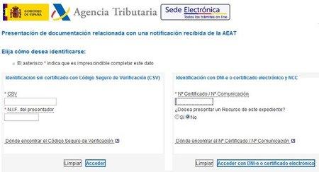 La Agencia Tributaria permite presentar documentación sin necesidad de certificado electrónico
