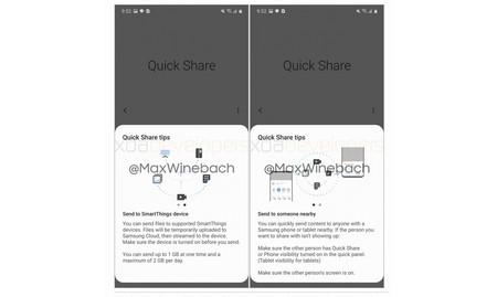 Quickshare Samsung