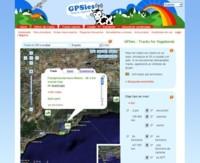GPSies, siguiendo las rutas obtenidas mediante GPS