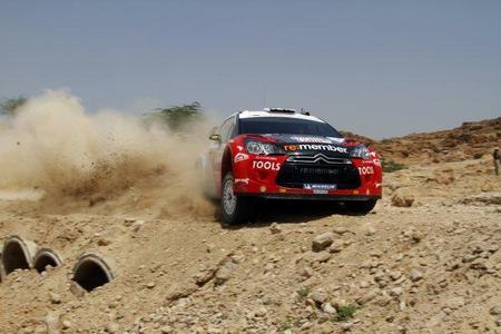 Rally de Jordania 2011: Petter Solberg el más rápido del shakedown