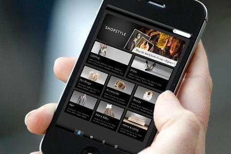 Shopstyle App Smartphone