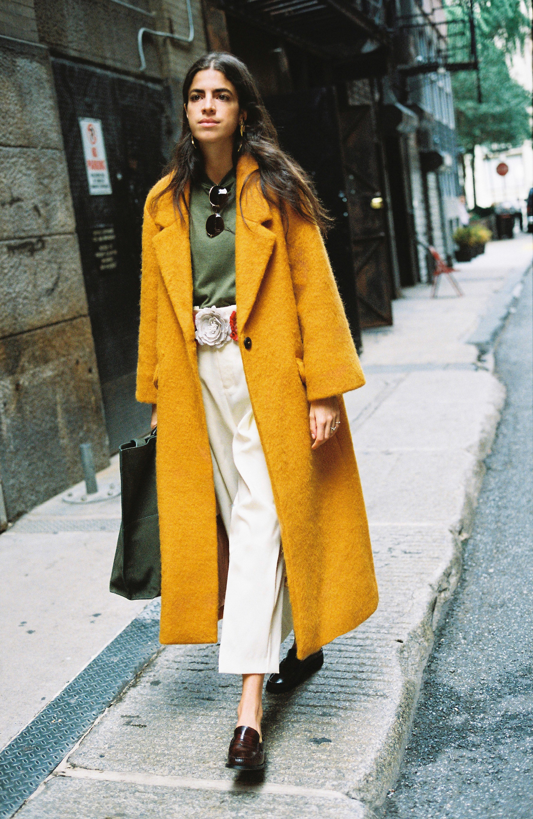 Leandra Medine y mango Journeys en Nueva York