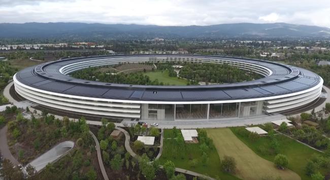 Un nuevo vídeo nos acerca a los jardines del Apple Park, a vista de drone