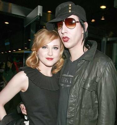 Se casan Marilyn Manson y Evan Rachel Wood