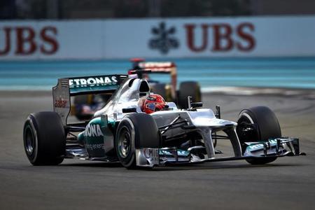 Michael Schumacher ayudará a desarrollar el Mercedes del 2013