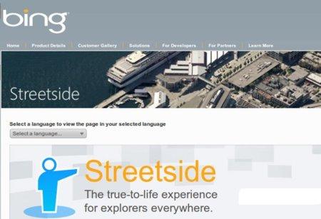 Microsoft Streetside llega a España