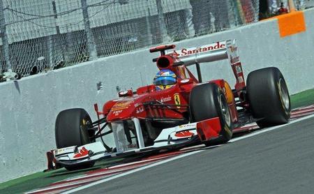 GP de Canadá F1 2011: Fernando Alonso pendiente de la lluvia