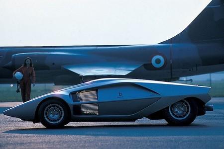 Lancia Stratos Zero perfil
