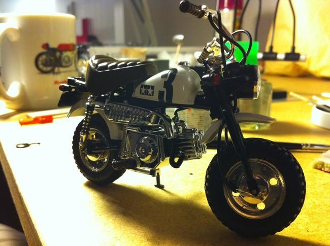 Honda Monkey de Tamiya