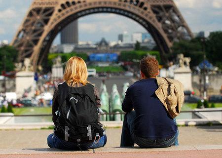 Paris turistas