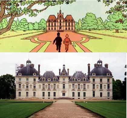 El castillo que inspiró al creador de Tintín en el valle del Loire