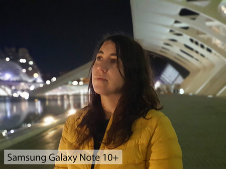 Samsung Galaxy Note 10plus Retrato Noche