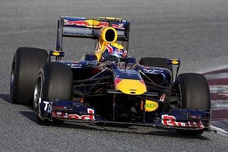 """Mark Webber y """"los dos Nicos"""" golpean primero el primer día en el Circuit de Catalunya"""