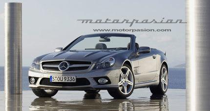 Filtradas las primeras imágenes del Mercedes-Benz SL 350 2008