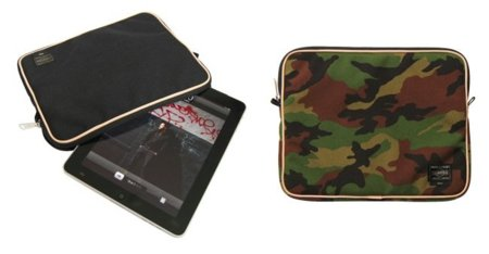 Funda de Toshida para iPad, llamativo camuflaje o negro discreto