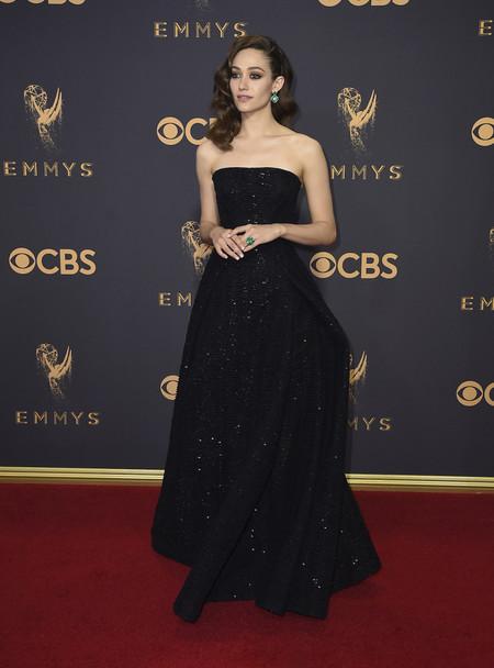 Emmy Rossum Emmy 2017 zac posen