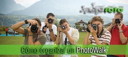 Cómo organizar un photowalk