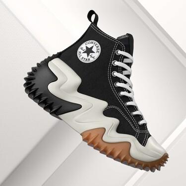 Converse presenta la suela más dramática que verás en sus zapatillas (hasta ahora) Run Star Motion