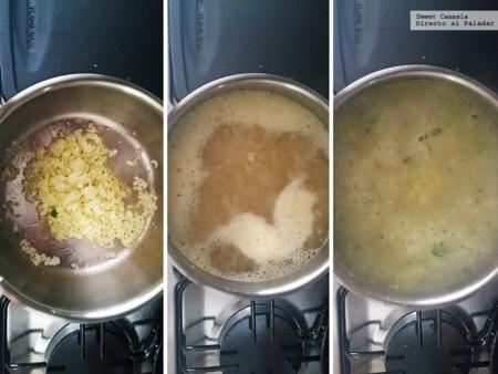 Sopa Papa con 5 ingredientes