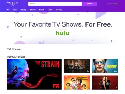Yahoo se alía con Hulu para lanzar un servicio al más puro estilo Netflix, pero gratis
