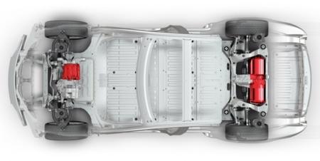 Plataforma Tesla Model S P85d