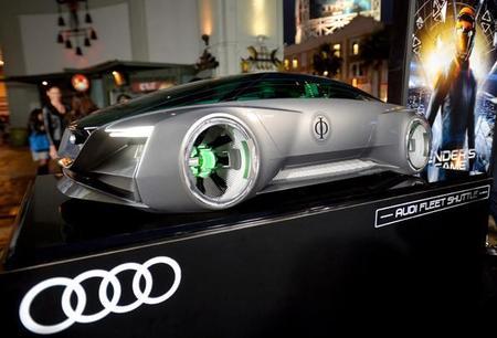 Audi fleet shuttle Quattro año 2135, un auto de ficción