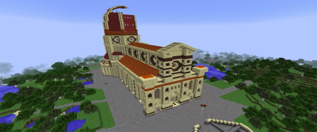 Catedral Florencia Minecraft