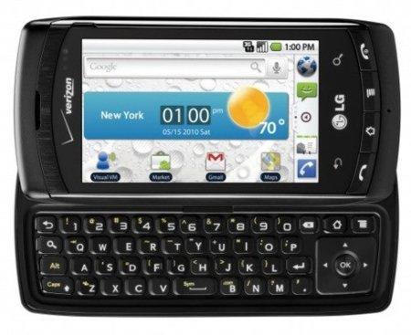 LG Ally, el Motorola Milestone de LG y también con Android 2.1