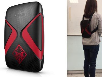 La moda de los ordenadores mochila: así es el HP Omen X VR
