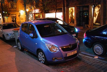 Opel Agila en Madrid