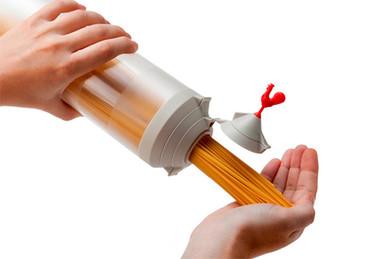 Spaghetti Tower, un utensilio que te ayuda a calcular la cantidad de espagueti por persona
