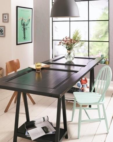 Recicladecoración: cómo convertir una vieja puerta en una mesa paso a paso