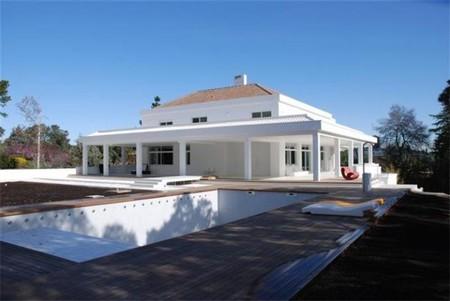 Casas de lujo en España: Viviendo en la White House de La Moraleja
