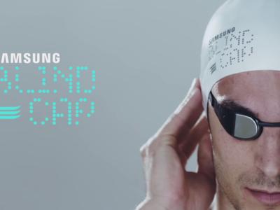 Este es el gorro Bluetooth con el que Samsung quiere revolucionar la natación paralímpica