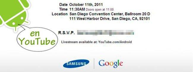 Google Samsung Unpacked 2011