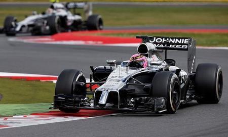 McLaren rodará mañana con un MP4-29 con el motor Honda de Fórmula 1 en Silverstone