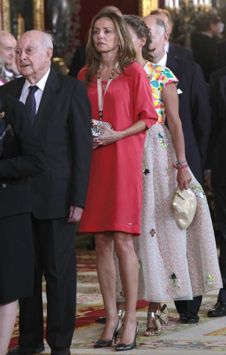 Miriam Ungria recepcion Felipe VI Letizia