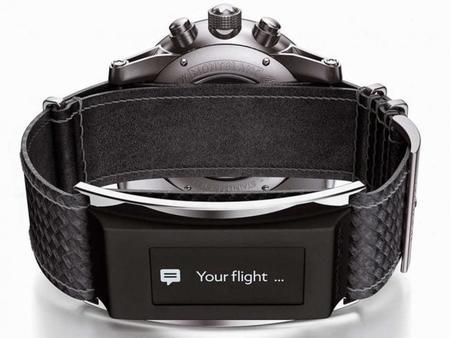 Montblanc se suma a los 'wearables' de lujo con una correa inteligente en sus relojes