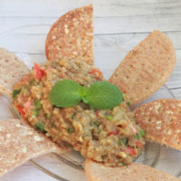 La versión jordana de la receta de Baba Ganush o mutabal