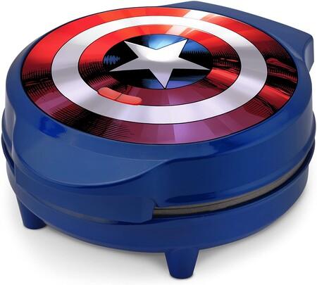 Wafflera del Capitán América, Marvel, en Amazon México para Disney+