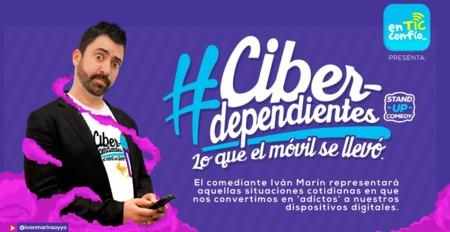 #Ciberdependientes lo que el móvil se llevó es el nuevo stand up comedy que quiere concientizar a la gente